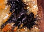Peinture Powerful Arabian Beauty (cheval)