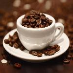 Affiche Cup of Beans (tasse à café)