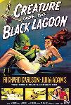 Affiche du film L'Etrange créature du lac noir