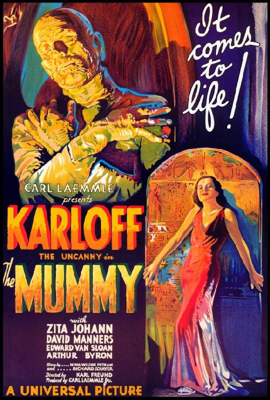 affiche du film la momie acheter affiche du film la momie 3372 affiches et. Black Bedroom Furniture Sets. Home Design Ideas