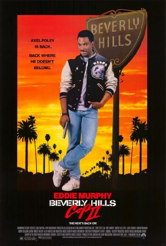 affiche du film le flic de beverly hills 2 acheter affiche du film le flic de beverly hills 2. Black Bedroom Furniture Sets. Home Design Ideas