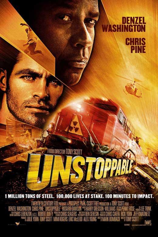 affiche officielle du film unstoppable acheter affiche officielle du film unstoppable 3517. Black Bedroom Furniture Sets. Home Design Ideas