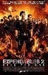 Affiche officielle du film Expendables 2: unité spéciale