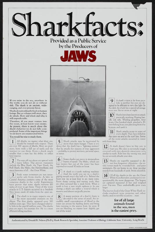 affiche noir et blanc des dents de la mer jaws acheter affiche noir et blanc des dents de la. Black Bedroom Furniture Sets. Home Design Ideas
