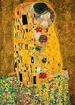 Photo murale du Baiser de Gustav Klimt (4 panneaux à coller)