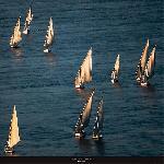 Affiche Egypte - Sur le Nil à Louxor