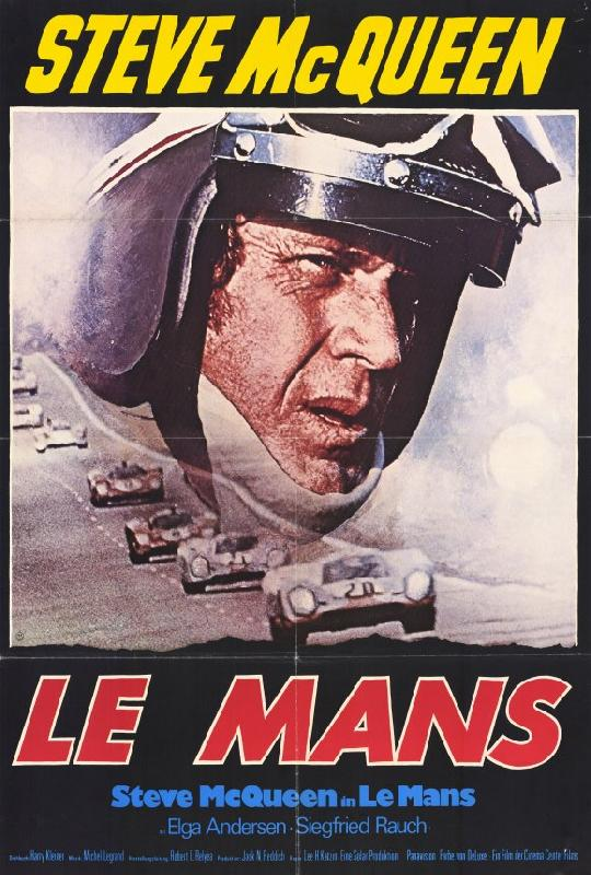 affiche du film le mans mcqueen acheter affiche du. Black Bedroom Furniture Sets. Home Design Ideas