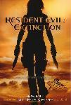 Affiche du film Resident Evil Extinction (back)