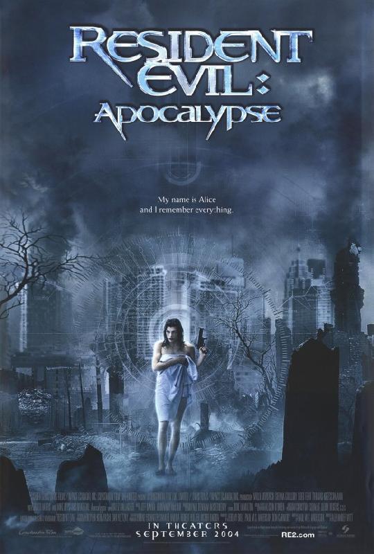 affiche du film resident evil apocalypse acheter affiche du film resident evil apocalypse. Black Bedroom Furniture Sets. Home Design Ideas
