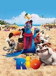 Affiche du film d'animation Rio (cast)