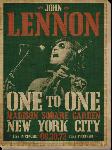 Toile Imprimée de John Lennon (concert)