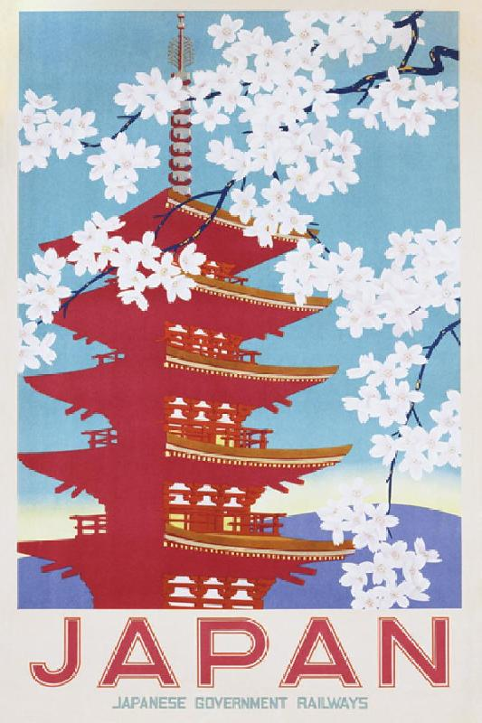 poster vintage japan blossom acheter poster vintage japan blossom 396 affiches et. Black Bedroom Furniture Sets. Home Design Ideas