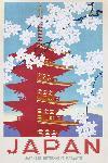 Poster vintage Japan (Blossom)