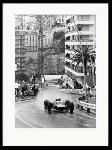 photo noir et blanc Monaco Grand Prix