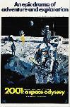 Affiche du film l'Odyssée de l'espce 2001 exploration