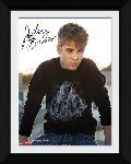 Poster encadré de Justin Bieber Rooftop