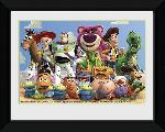 Affiche encadrée du film animé Toy Story 3 Group