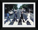Photo pré encadrée des Beatles Abbey Road