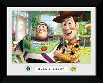 Poster encadré du film animé Toy Story 3 Buzz & Woody