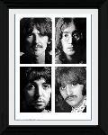 Photo encadrée des Beatles White Album