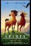 Affiche du dessin animé Spirit, l'étalon des plaines