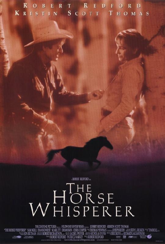 affiche du film l 39 homme qui murmurait a l 39 oreille des chevaux acheter affiche du film l 39 homme. Black Bedroom Furniture Sets. Home Design Ideas