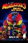 Affiche du film Madagascar 3, Bons Baisers D'Europe