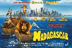 Poster du film animé Madagascar NYC