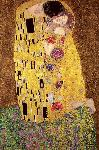 Affiche reproduction d'art Gustav Klimt's The Kiss