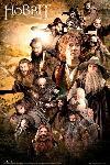 Affiche du film Bilbo le Hobbit Characters