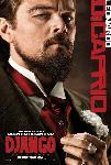 Affiche du film Django Unchained (Dicaprio)