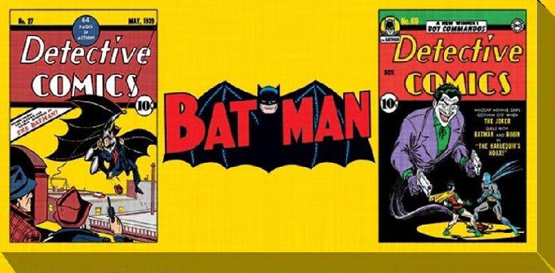 affiches posters toile imprim e de batman. Black Bedroom Furniture Sets. Home Design Ideas