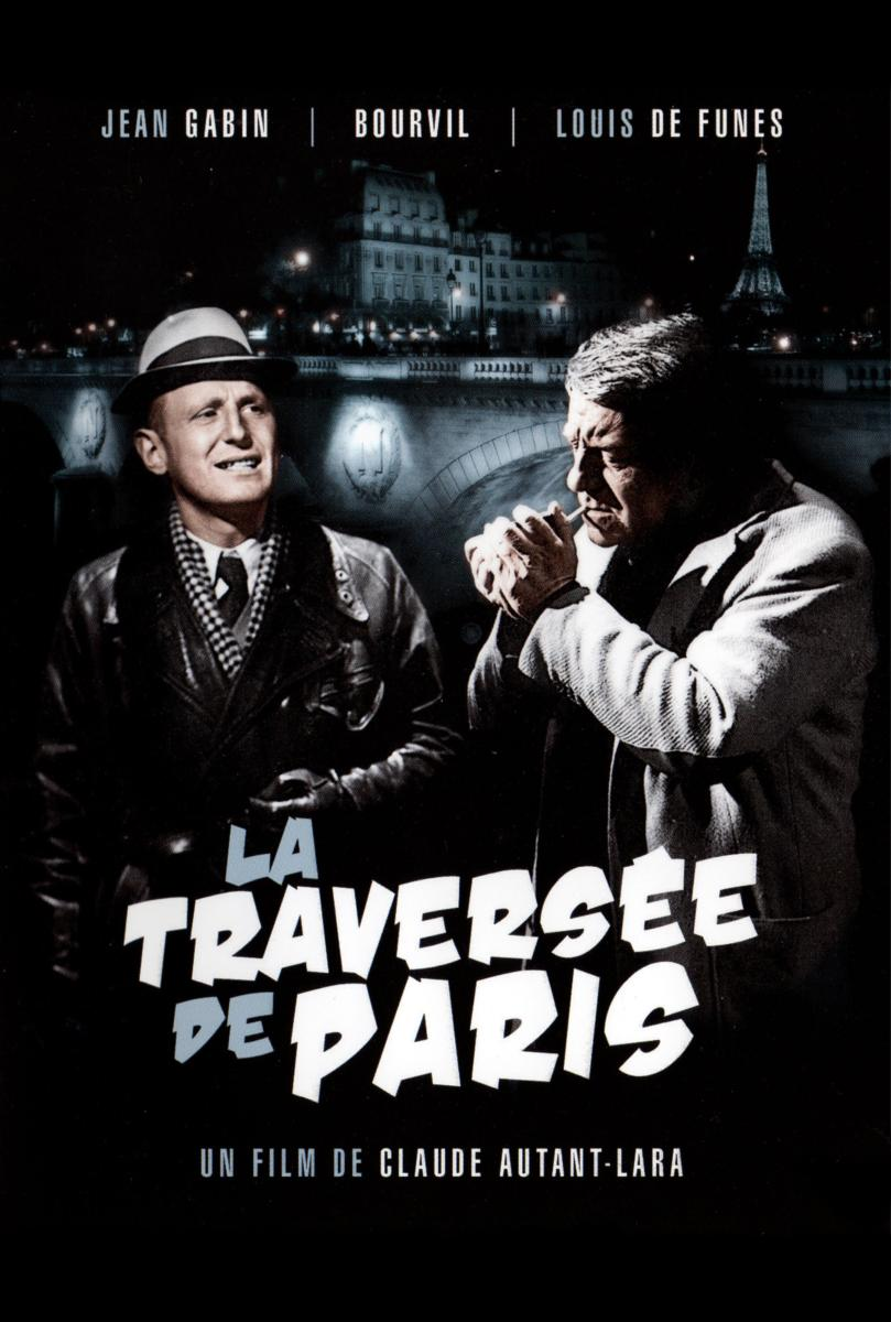 affiche du film la travers e de paris acheter affiche du film la travers e de paris 4510. Black Bedroom Furniture Sets. Home Design Ideas