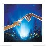 Poster Art Print de ET l'extraterrestre
