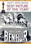 Affiche noir & blanc du film Ben Hur