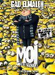 Poster film d'animation Moi, moche et méchant