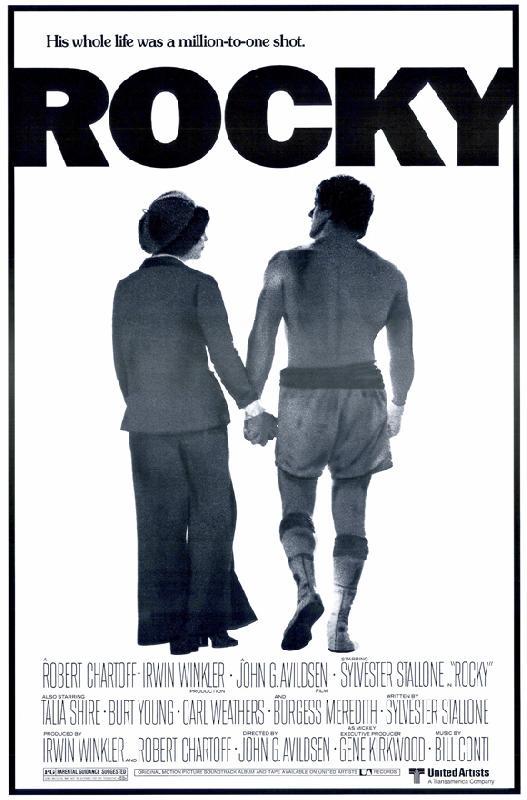 poster du film rocky acheter poster du film rocky 4603 affiches et. Black Bedroom Furniture Sets. Home Design Ideas
