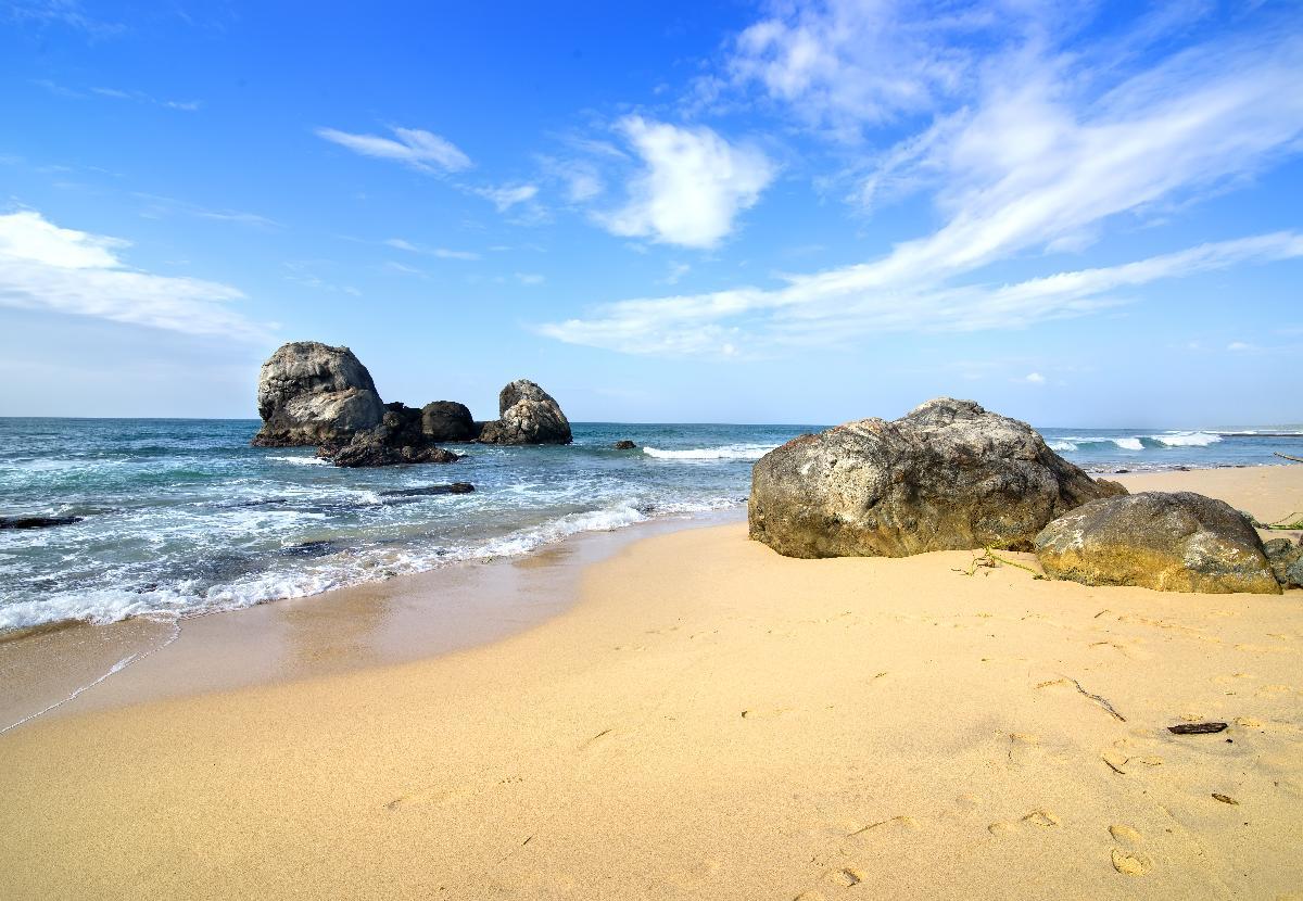 on stones ocean - photo #21