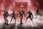 Affiche du film Captain America Civil War