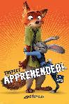 Affiche du film d'animation Zootopie