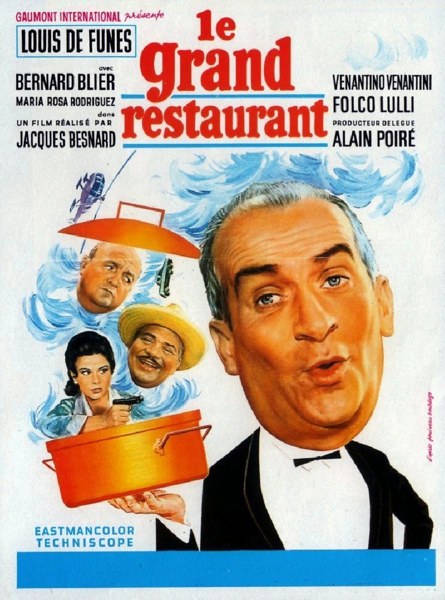 affiche du film le grand restaurant acheter affiche du film le grand restaurant 46436. Black Bedroom Furniture Sets. Home Design Ideas