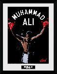 Affiche encadrée de Mohamed Ali