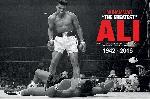 Affiche du boxeur Mohamed Ali