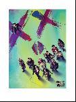 Affiche art print du film Suicide Squad