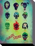 Toile imprimée du film Suicide Squad