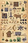 Poster Minecraft Pictograph