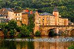Photo du pont de Brassac dans le Tarn