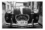 Voiture vintage face 120x80cm - gallery