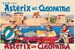 Affiche du dessin animé Astérix et Cléopâtre