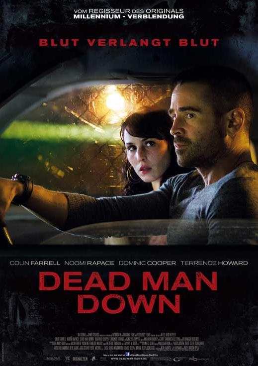 affiche du film dead man down acheter affiche du film dead man down 4717 affiches et. Black Bedroom Furniture Sets. Home Design Ideas